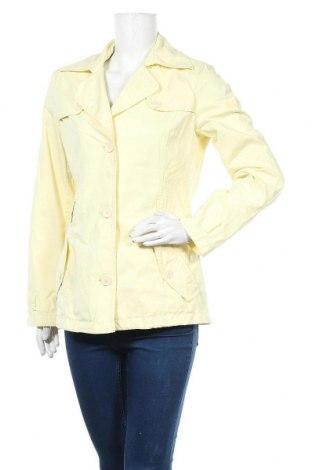 Дамско яке, Размер M, Цвят Жълт, 50% полиестер, 37% памук, 13% полиамид, Цена 10,76лв.
