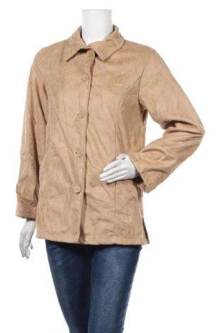 Дамско яке, Размер XS, Цвят Бежов, Полиестер, Цена 12,77лв.