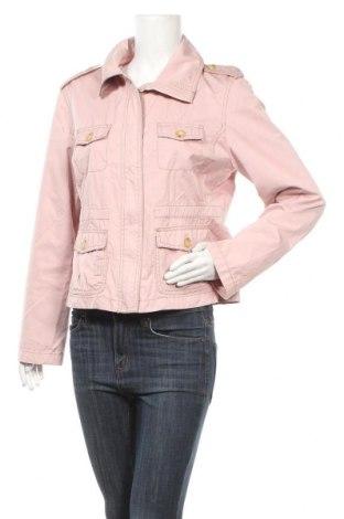 Дамско яке, Размер L, Цвят Розов, 47% памук, 37% полиестер, 16% полиамид, Цена 8,40лв.
