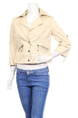 Γυναικείο μπουφάν Apart, Μέγεθος L, Χρώμα  Μπέζ, 97% βαμβάκι, 3% ελαστάνη, Τιμή 10,29€