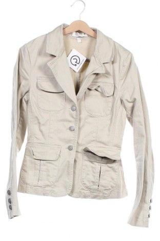 Γυναικείο μπουφάν Apart, Μέγεθος XS, Χρώμα  Μπέζ, 98% βαμβάκι, 2% ελαστάνη, Τιμή 12,00€