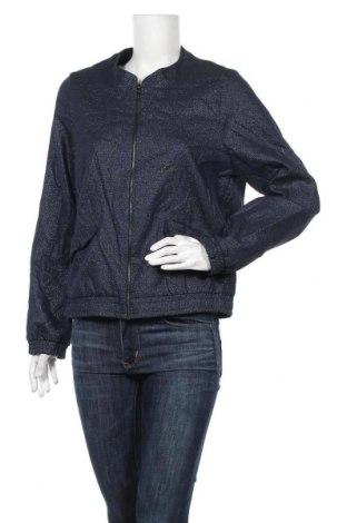 Дамско яке Bel&Bo, Размер L, Цвят Син, 57% полиестер, 35% памук, 5% еластан, 3% метални нишки, Цена 9,98лв.