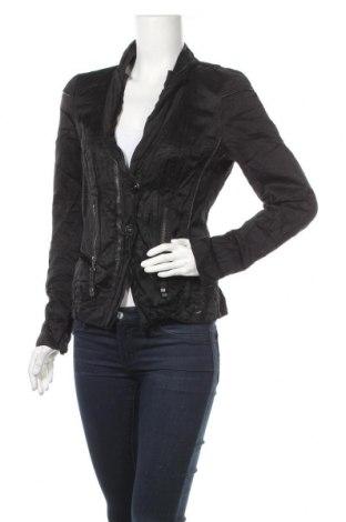 Дамско яке Biba, Размер S, Цвят Черен, 50% вискоза, 45% памук, 5% метални нишки, Цена 11,39лв.