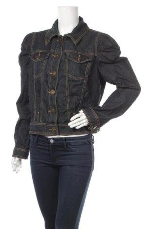 Γυναικείο μπουφάν Bisou Bisou By Michele Bohbot, Μέγεθος L, Χρώμα Μπλέ, 75% βαμβάκι, 23% πολυεστέρας, 2% ελαστάνη, Τιμή 19,12€