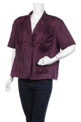 Дамско яке Bonita, Размер XL, Цвят Лилав, 100% лен, Цена 9,71лв.
