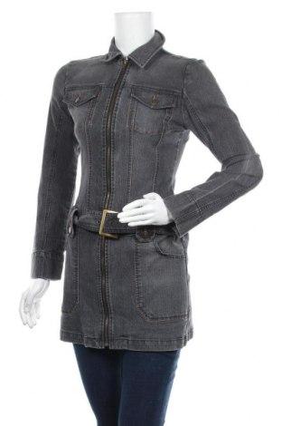 Γυναικείο μπουφάν Buffalo, Μέγεθος XS, Χρώμα Γκρί, 70% βαμβάκι, 25% πολυεστέρας, 5% ελαστάνη, Τιμή 28,58€