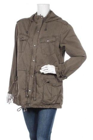 Γυναικείο μπουφάν Buffalo, Μέγεθος L, Χρώμα Πράσινο, 95% βαμβάκι, 5% ελαστάνη, Τιμή 15,07€