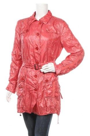 Дамско яке Carlo Colucci, Размер M, Цвят Розов, 58% полиестер, 42% полиамид, Цена 17,85лв.