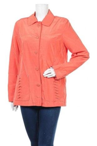 Дамско яке, Размер L, Цвят Розов, 53% полиестер, 47% памук, Цена 9,11лв.