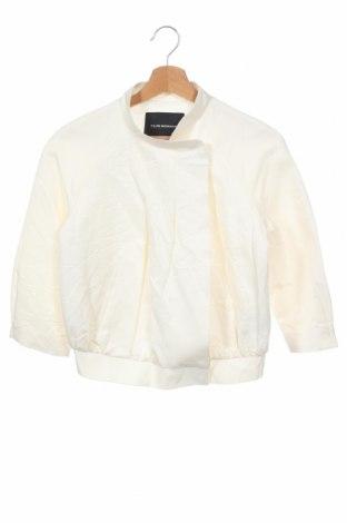 Γυναικείο μπουφάν Club Monaco, Μέγεθος XS, Χρώμα Λευκό, 78% βαμβάκι, 22% μετάξι, Τιμή 53,37€