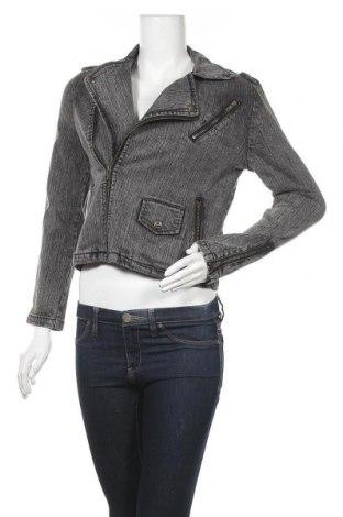 Γυναικείο μπουφάν Converse, Μέγεθος M, Χρώμα Γκρί, Τιμή 26,31€