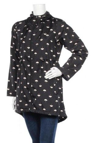 Дамско яке Denim&Co., Размер S, Цвят Черен, 100% полиестер, Цена 35,28лв.