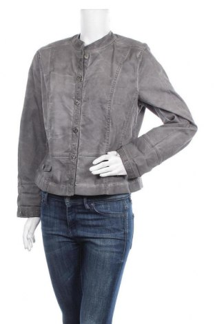 Дамско яке Designer S, Размер L, Цвят Сив, 65% памук, 34% полиестер, 1% еластан, Цена 9,83лв.