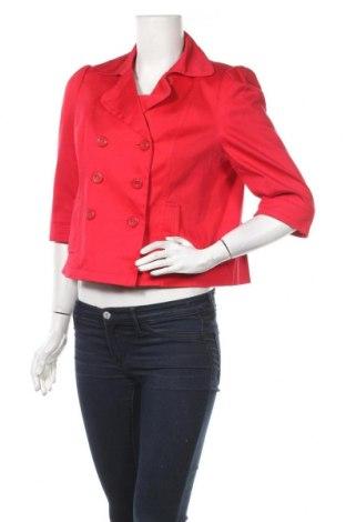 Дамско яке F&F, Размер L, Цвят Червен, 97% памук, 3% еластан, Цена 7,18лв.