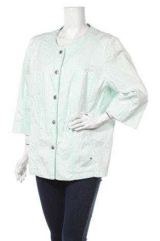 Дамско яке Gelco, Размер XXL, Цвят Зелен, 97% памук, 3% еластан, Цена 9,98лв.