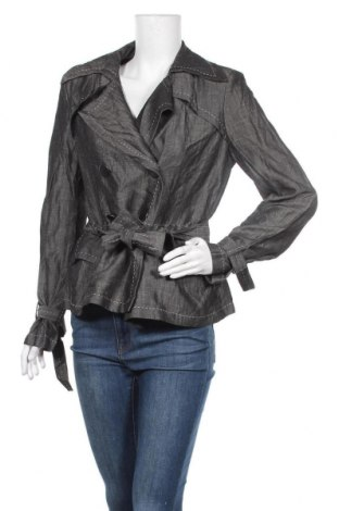 Γυναικείο μπουφάν Georges Rech, Μέγεθος L, Χρώμα Γκρί, 62% μαλλί, 38% λινό, Τιμή 8,53€