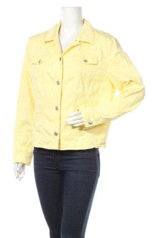 Дамско яке Gerry Weber, Размер XL, Цвят Жълт, 98% памук, 2% еластан, Цена 42,00лв.