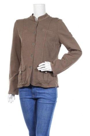 Дамско яке Gina, Размер M, Цвят Кафяв, 89% памук, 11% еластан, Цена 6,51лв.