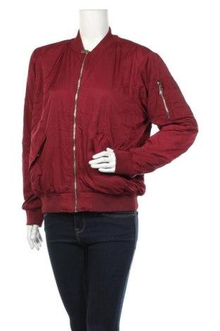 Дамско яке H&M, Размер M, Цвят Червен, Полиестер, Цена 17,77лв.
