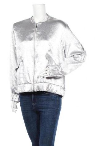 Дамско яке H&M, Размер XL, Цвят Сив, Полиестер, Цена 9,98лв.