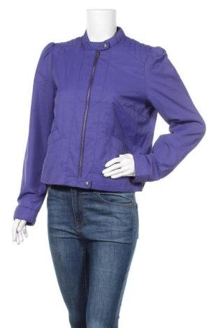 Дамско яке H&M, Размер XL, Цвят Син, 52% полиамид, 48% памук, Цена 10,88лв.