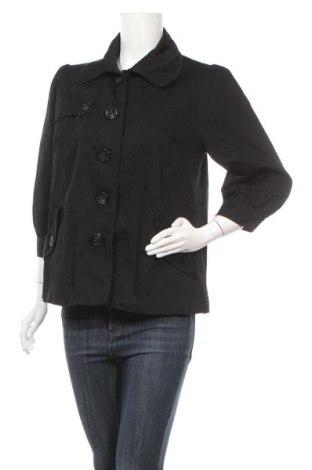 Дамско яке H&M, Размер L, Цвят Черен, Памук, Цена 14,33лв.
