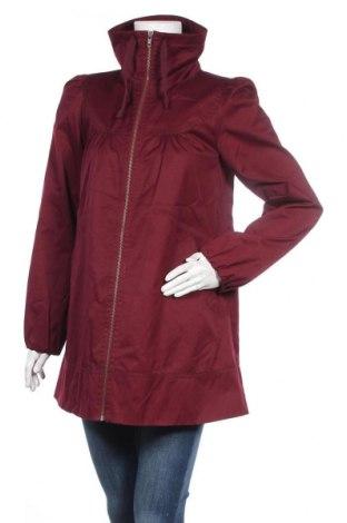 Дамско яке H&M, Размер M, Цвят Червен, 65% полиестер, 35% памук, Цена 15,50лв.