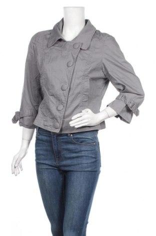 Дамско яке H&M, Размер XL, Цвят Сив, Памук, Цена 10,29лв.