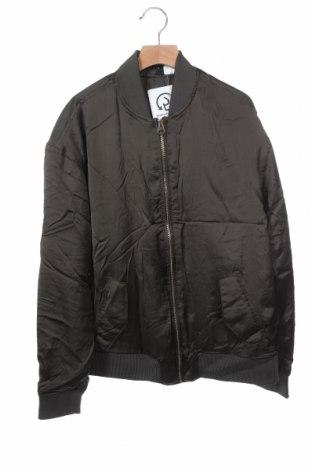 Дамско яке H&M Divided, Размер XS, Цвят Зелен, 100% полиестер, Цена 14,74лв.