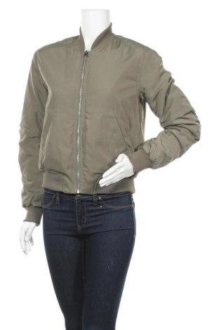 Дамско яке H&M Divided, Размер XS, Цвят Зелен, Полиестер, Цена 11,03лв.