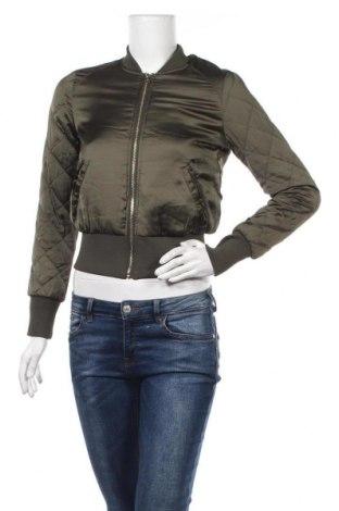 Дамско яке H&M Divided, Размер S, Цвят Зелен, Полиестер, Цена 9,87лв.
