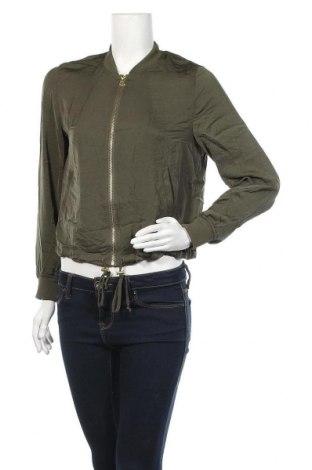 Дамско яке H&M Divided, Размер M, Цвят Зелен, Полиестер, Цена 10,76лв.