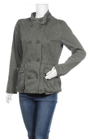 Дамско яке H&M Divided, Размер L, Цвят Зелен, 97% памук, 3% еластан, Цена 12,85лв.