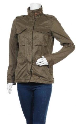Дамско яке H&M L.O.G.G., Размер XS, Цвят Зелен, 64% памук, 29% полиестер, 7% полиамид, Цена 21,12лв.