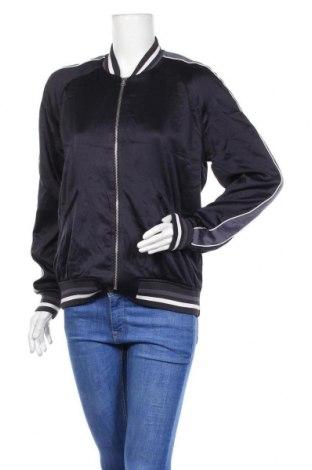 Дамско яке H&M L.O.G.G., Размер M, Цвят Син, 100% полиестер, Цена 13,35лв.