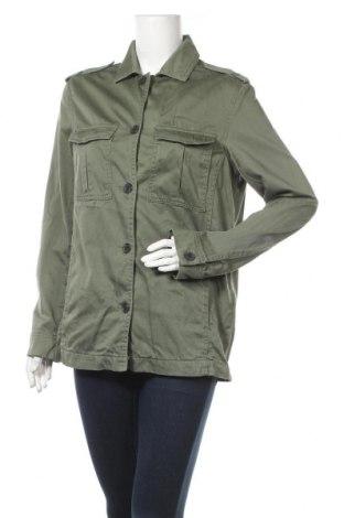 Дамско яке H&M L.O.G.G., Размер M, Цвят Зелен, Памук, Цена 34,00лв.