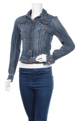 Дамско яке H&M L.O.G.G., Размер S, Цвят Син, 99% памук, 1% еластан, Цена 39,90лв.
