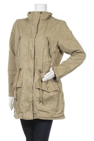 Дамско яке H&M L.O.G.G., Размер XL, Цвят Зелен, Памук, Цена 43,89лв.