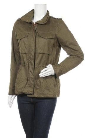 Дамско яке H&M L.O.G.G., Размер S, Цвят Зелен, 64% памук, 29% полиестер, 7% полиамид, Цена 41,90лв.