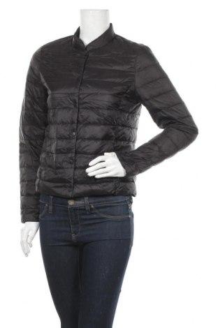 Дамско яке H&M L.O.G.G., Размер S, Цвят Черен, Полиестер, пух и пера, Цена 36,12лв.