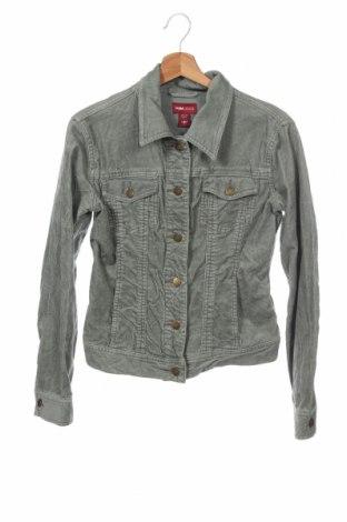 Дамско яке H&M L.O.G.G., Размер XS, Цвят Зелен, 98% памук, 2% еластан, Цена 31,08лв.