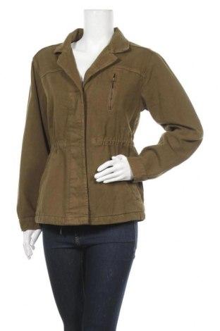 Дамско яке H&M L.O.G.G., Размер S, Цвят Зелен, 100% памук, Цена 28,56лв.