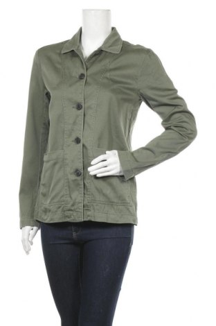 Дамско яке H&M L.O.G.G., Размер S, Цвят Зелен, Памук, Цена 34,44лв.