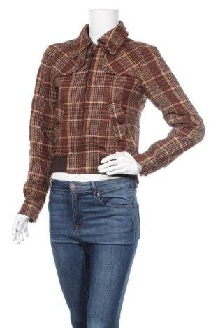 Γυναικείο μπουφάν Hallhuber, Μέγεθος S, Χρώμα Πολύχρωμο, 35%ακρυλικό, 30% μαλλί, 30% πολυεστέρας, 5% άλλα υφάσματα, Τιμή 32,73€