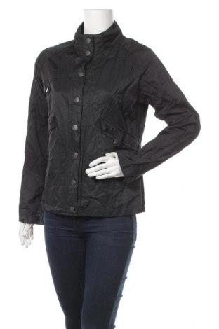 Γυναικείο μπουφάν Hallhuber, Μέγεθος M, Χρώμα Μαύρο, 59% βαμβάκι, 36% πολυαμίδη, 5% μεταλλικά νήματα, Τιμή 14,78€