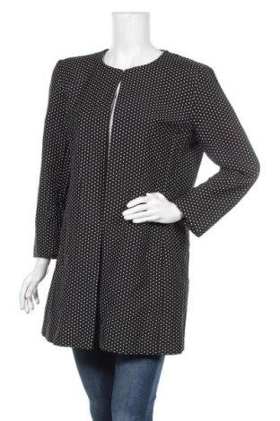 Γυναικείο παλτό Hallhuber, Μέγεθος XL, Χρώμα Μαύρο, 60% πολυεστέρας, 40% βαμβάκι, Τιμή 44,16€