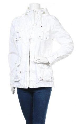 Γυναικείο μπουφάν Hallhuber, Μέγεθος L, Χρώμα Λευκό, 100% βαμβάκι, Τιμή 15,91€