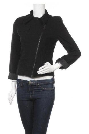 Дамско яке Miss H., Размер S, Цвят Черен, 69% вискоза, 26% полиамид, 5% еластан, Цена 11,74лв.