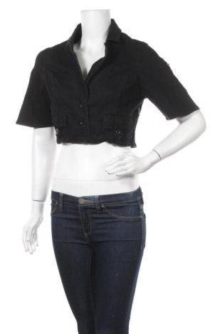 Дамско яке Mo, Размер L, Цвят Черен, 98% памук, 2% еластан, Цена 7,98лв.