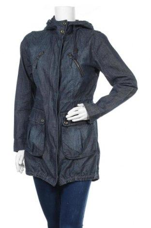 Γυναικείο μπουφάν Moodo, Μέγεθος S, Χρώμα Μπλέ, Βαμβάκι, Τιμή 11,14€